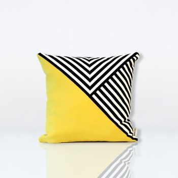pieddecoq-coussin-pillow-design-cancale-jaune